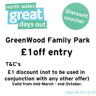 GreenWood Family Park Discount Voucher