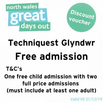Techniquest Glyndwr Discount Voucher