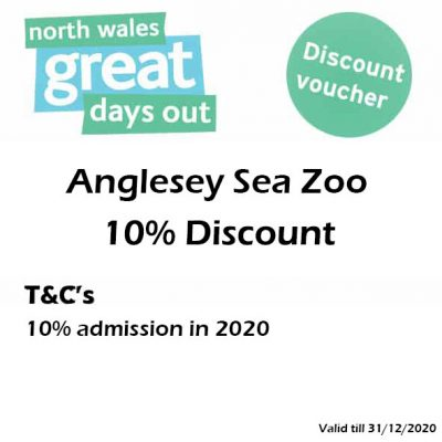 Anglesey Sea Zoo Discount Voucher