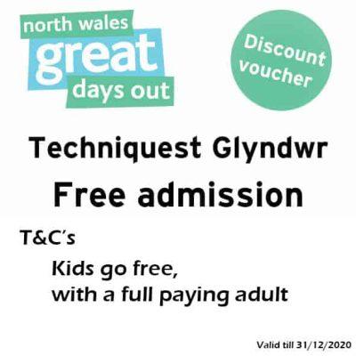 Techniquest Glyndwr Discount Voucher